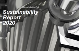 Front Cover Sustainabiity Report 2020